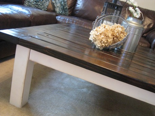 coffee table reveal - shanty 2 chic