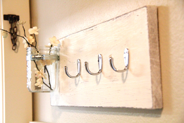 Mason Jar Key Hook Shanty 2 Chic