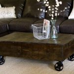 Crate Coffee Table Reveal!!