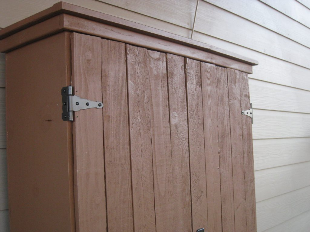 Outdoor Storage Cabinet Finished Shanty 2 Chic