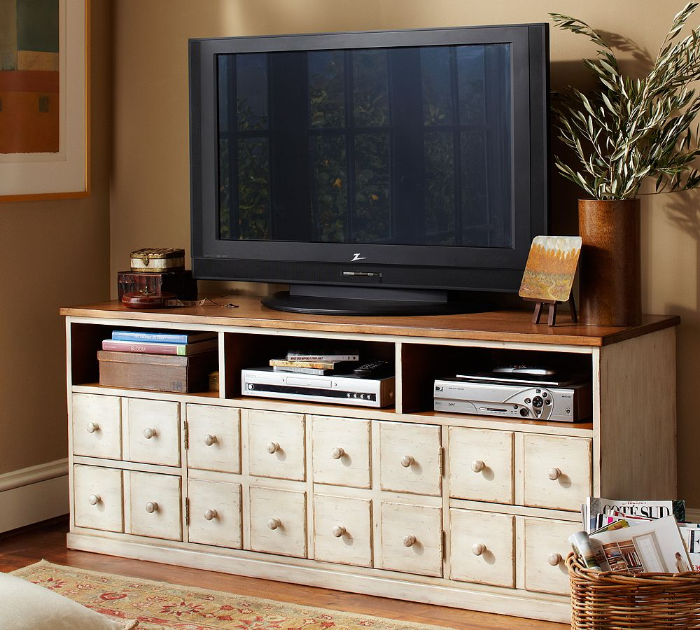 diy media console shanty 2 chic. Black Bedroom Furniture Sets. Home Design Ideas