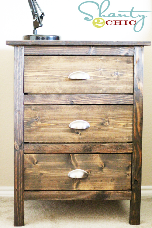 Woodwork how to build wood night stand pdf plans for Nightstand plans
