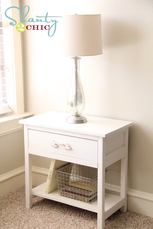 farmhouse side table shanty 2 chic. Black Bedroom Furniture Sets. Home Design Ideas