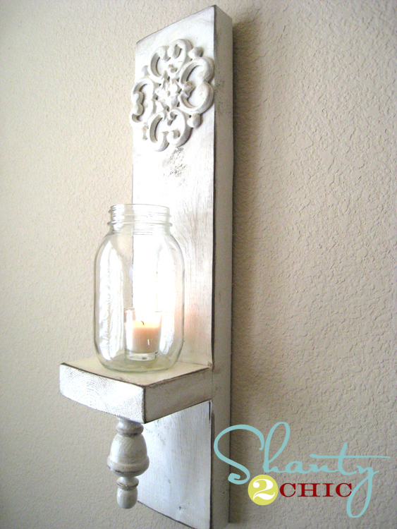 DIY Wall Sconce Video - Shanty 2 Chic
