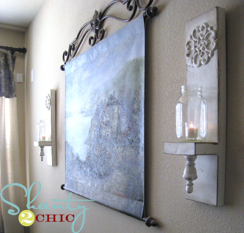 New  wall sconces for under Happy Friday and have a safe weekend