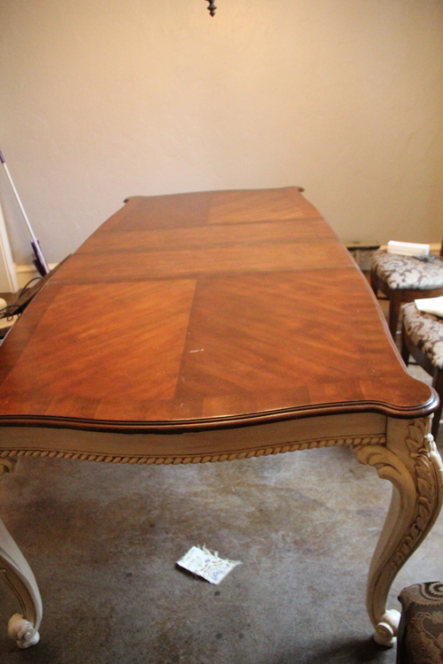 Dining Table Redone Shanty 2 Chic
