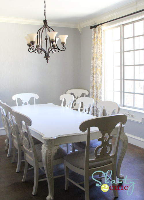 painting a dining room redoing the dining chairs shanty 2 chic 4081
