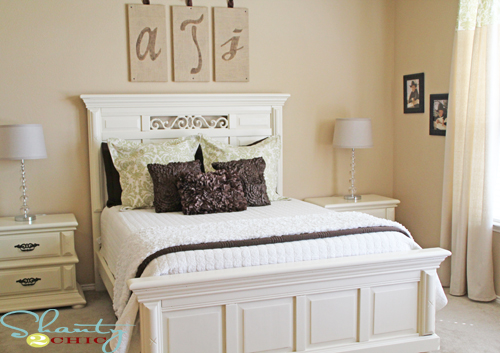 bhg guest ready giveaway and a before and after shanty. Black Bedroom Furniture Sets. Home Design Ideas