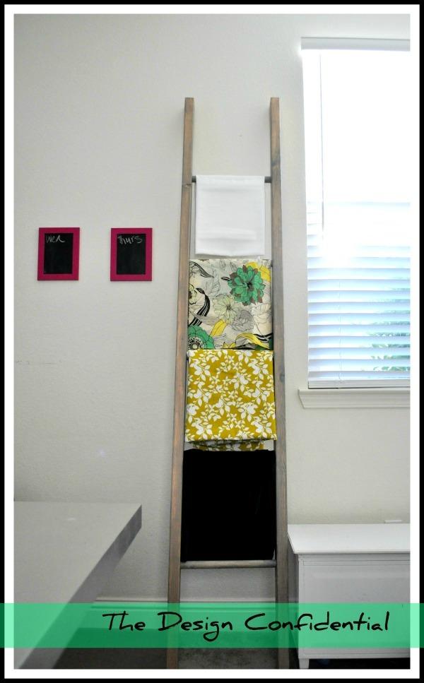 Design Confidential Diy Decorative Ladder Shanty 2 Chic