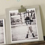 Clipboard Inspired Photo Displays