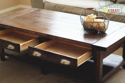 plans a coffee table