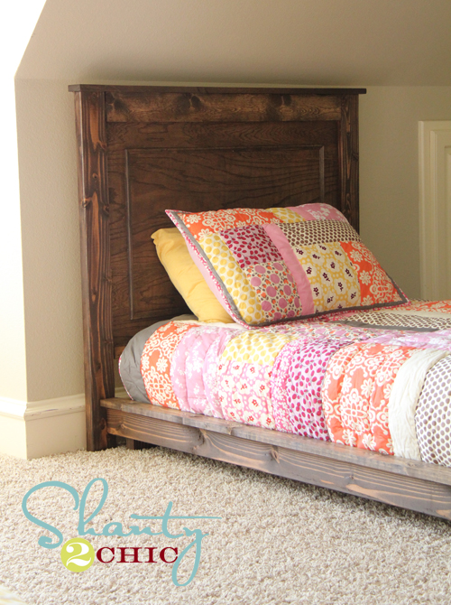Pottery barn kids bed for the home pinterest diy bed for Platform bed twin diy