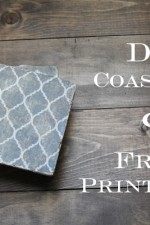 DIY Coasters and Free Printables!