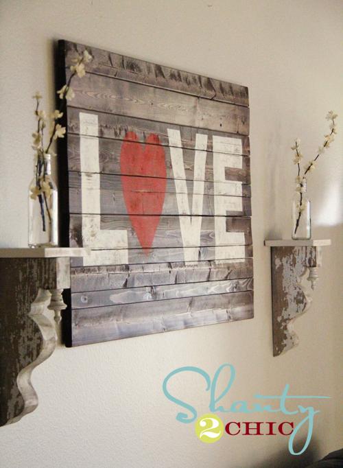 Wall Art Love Your Home : Interieur inspiratie steigerhouten schilderij maken