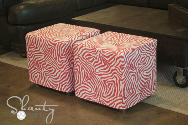 Aren't ... - DIY $20 Ottoman!! - Shanty 2 Chic