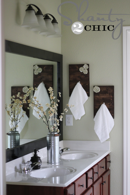 Diy Towel Hooks Shanty 2 Chic
