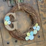 Cheap and Easy Spring Wreath!