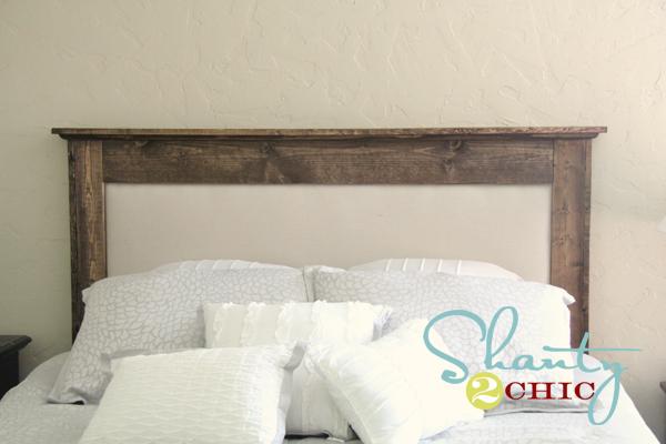 diy upholstered queen headboard  shanty  chic, Headboard designs