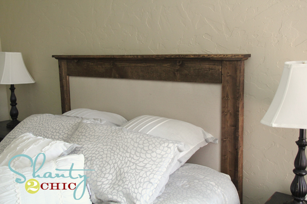 diy upholstered queen headboard  shanty  chic, Headboard designs