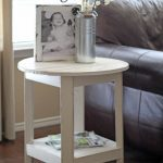 DIY Pottery Barn Inspired Benchright Side Table