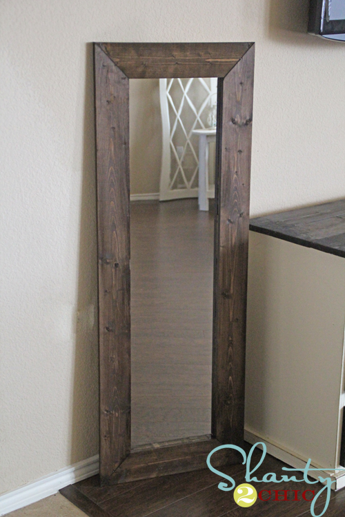 15 DIY Mirror Shanty 2 Chic