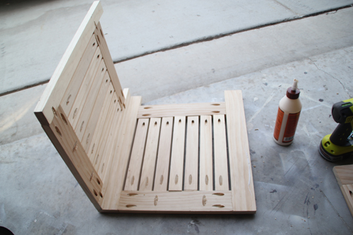 ends joined with wood glue