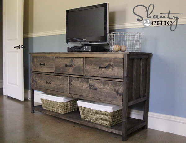 Pottery Barn Inspired Diy Dresser Shanty 2 Chic