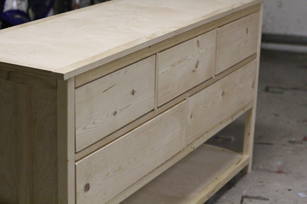 How to build chest of drawers plans