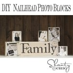 DIY Nailhead Photo Blocks