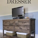Pottery Barn Inspired DIY Dresser
