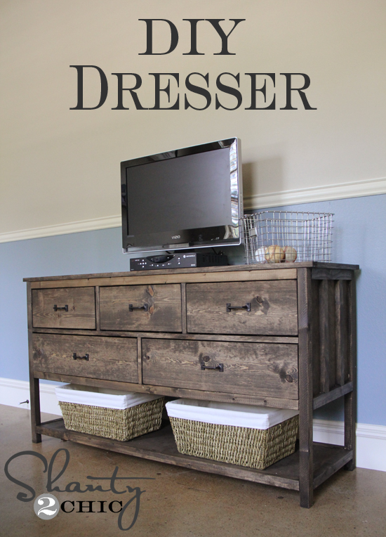 Build A Dresser Cheap