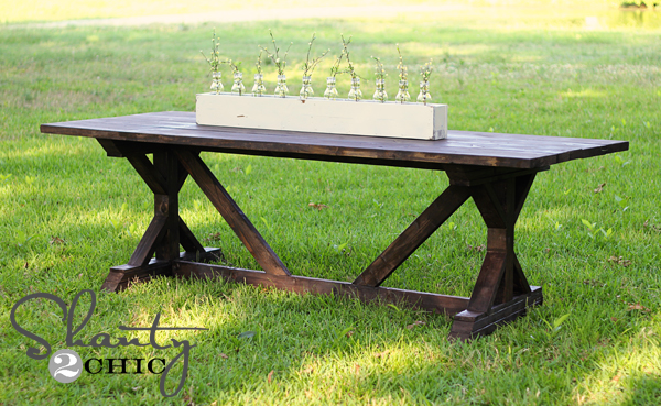 DIY Dining Table For Only 65