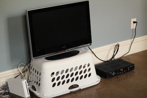 long dresser tv stand