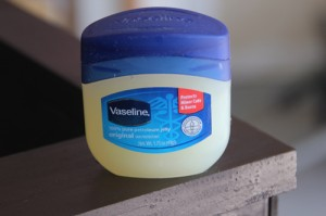 Vaseline for distressing