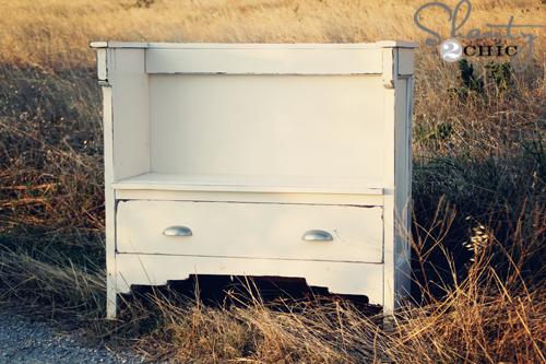 Vintage DIY Bench - Shanty 2 Chic