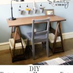 Restoration Hardware DIY Desk