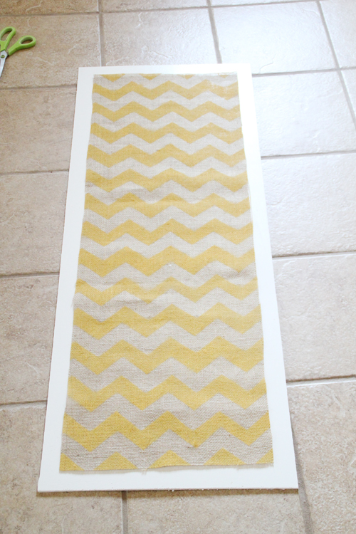 diy how to paint a chevron stencil