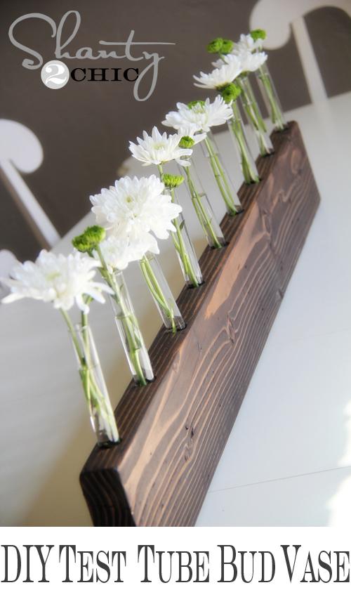 Test Tube Bud Vase Centerpiece Diy Shanty 2 Chic