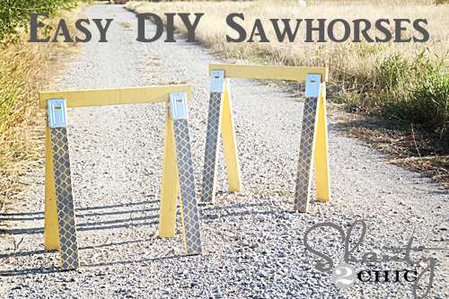 diy sawhorse plans