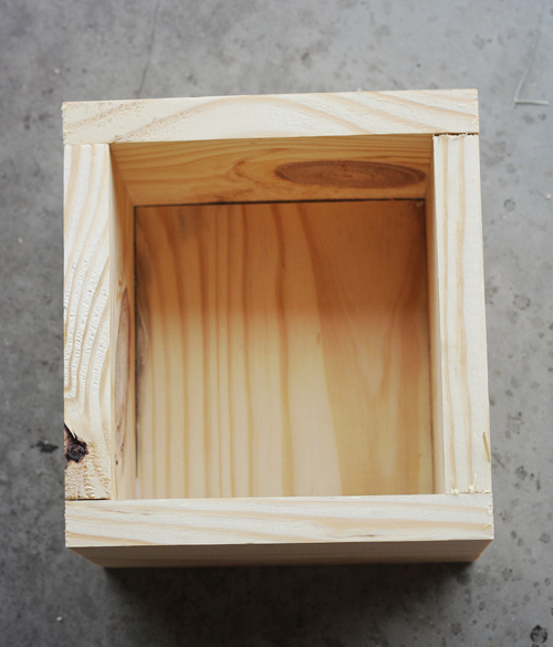 how to build wood box