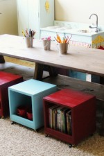 Playroom Kids Table DIY