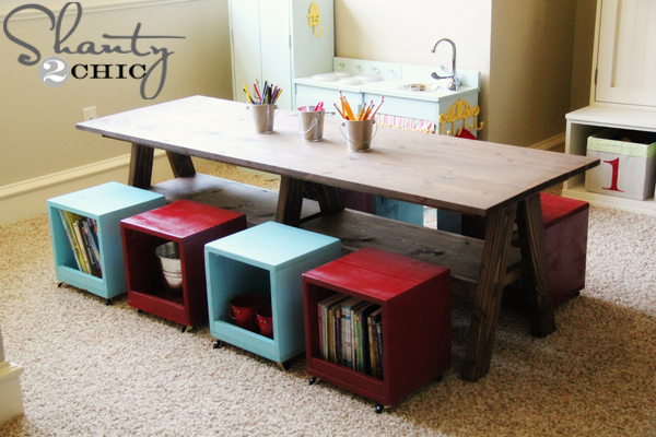 Outstanding DIY Kids Play Table 600 x 400 · 244 kB · jpeg