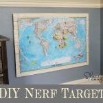Nerf Guns Target Board ~ DIY