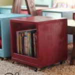 Rolling Storage Cube Stools