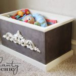 DIY Wood Toy Box or Blanket Box