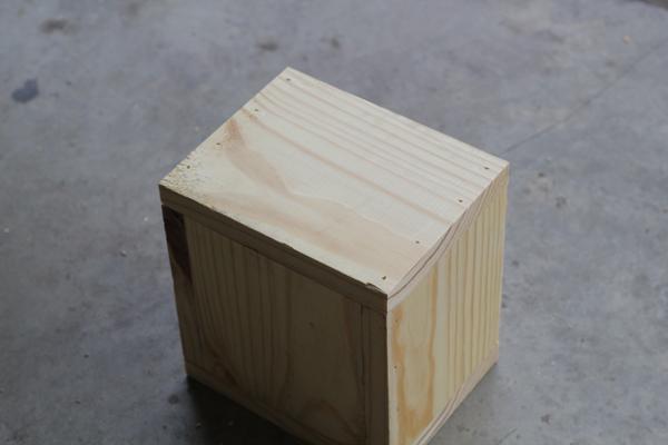 Diy centerpiece mini planter boxes shanty chic