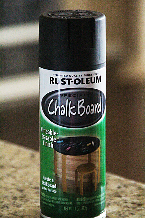 Chalkboard Spray Paint