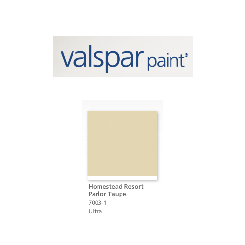 valspar homestead resort parlor taupe with accent wall