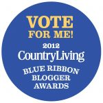 Vote for Me Blogger Logo
