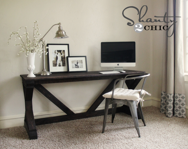Farmhouse Desk Shanty 2 Chic